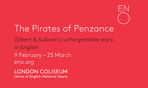 Simon Bubb – English National Opera 'The Pirates of Penzance'