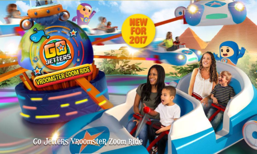 Tommie Earl Jenkins – Go Jetters Vroomster Ride